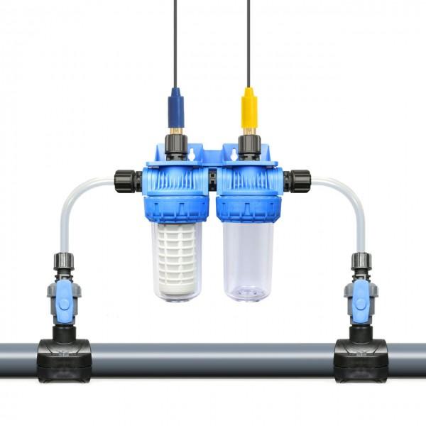 Doppel-Bypass Messzelle / Elektrodenhalter-Set für 12mm Elektroden