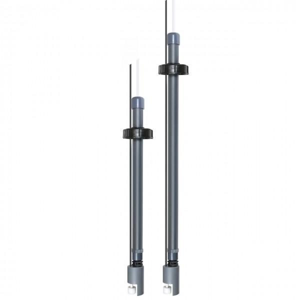 Sauglanze / Sauggarnitur 500 und 700mm mit Leermeldung