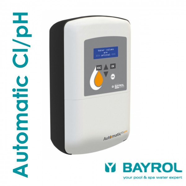 BAYROL Automatic Cl/pH – Mess- und Regelanlage für Pools bis 90m³